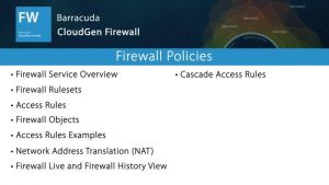 NGF01200 - Firewall Policies