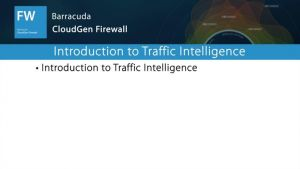 NGF01333 - Introduction to Traffic Intelligence