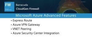 NGF05420 - Microsoft Azure Advanced Features