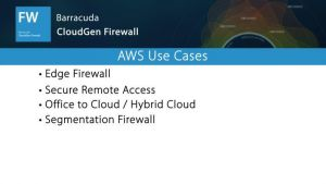 NGF05450 NextGen Firewall in AWS Use Cases