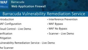 WAF027- Barracuda Vulnerability Remediation Service