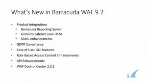 What's New in WAF v9.2