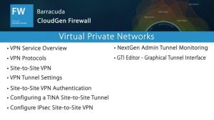 NGF01300 - Virtual Private Networks