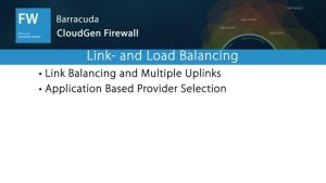 NGF04202 - Link- and Load Balancing