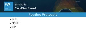 NGF04900 - Routing Protocols