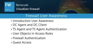NGF03204 - Firewall User Awareness