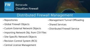 NGF02520 - Distributed Firewall Management