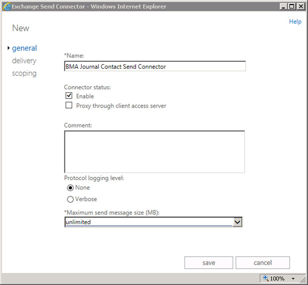How to Configure Envelope (SMTP) Journaling for Microsoft