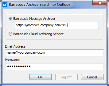 Installing and Configuring Barracuda Archive Search for