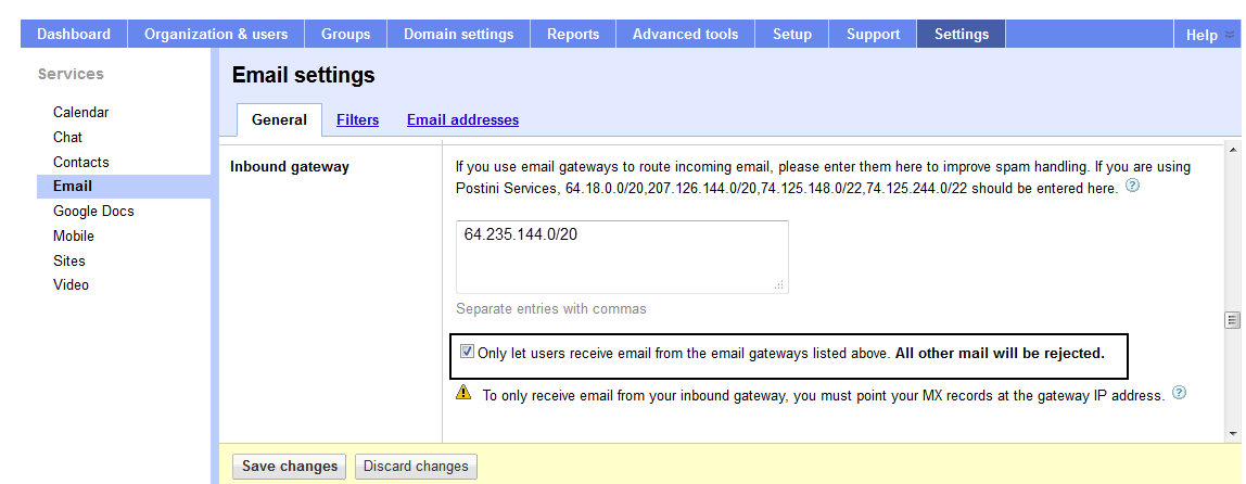 How to Configure G Suite for Inbound and Outbound Mail   Barracuda