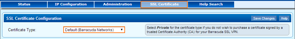 How to Upload a Renewed SSL Certificate | Barracuda Campus