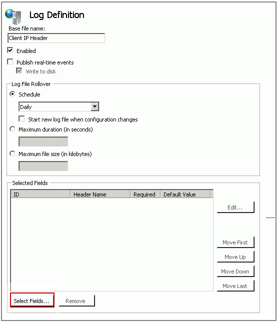 Logging Actual Client IP Address In the IIS 7 and IIS 7 5