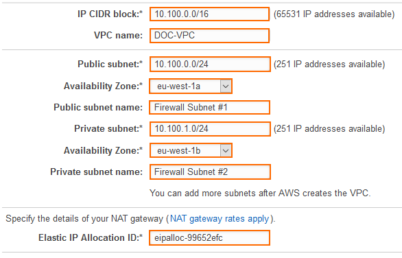 How to Configure a High Availability Cluster in AWS using the Web