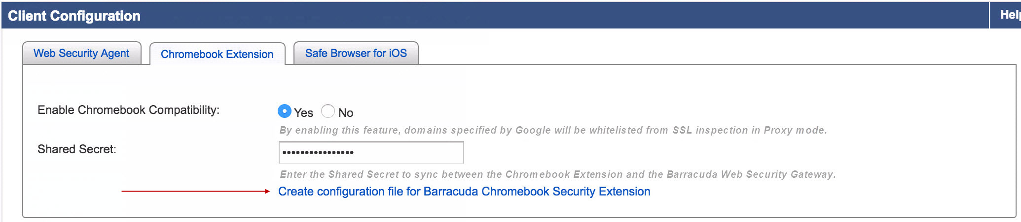 How to Get and Configure the Barracuda Chromebook Security Extension