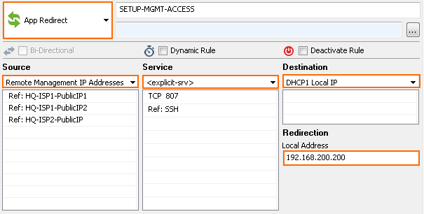 Example - How to Enable Remote Management Access From the