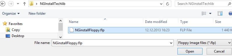 How to Deploy a NextGen F-Series Vx using F-Series Install