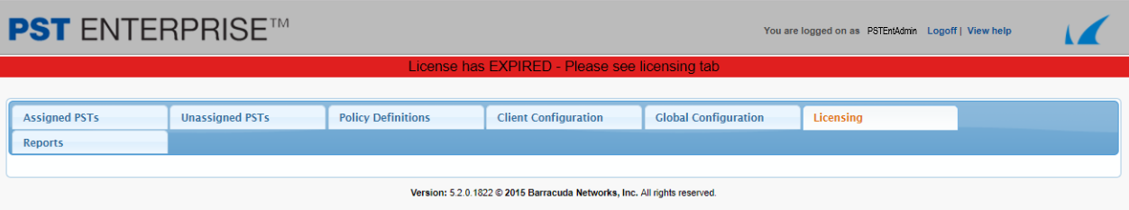 How To Resolve License Tab Failing To Load License