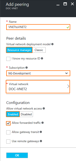 How to Configure VNET Peering with the CloudGen Firewall