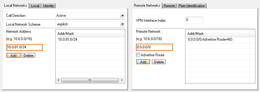 How to Set Up a Default Route Through a Site-to-Site VPN Tunnel