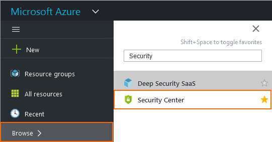 Azure Security Center Integration | Barracuda Campus