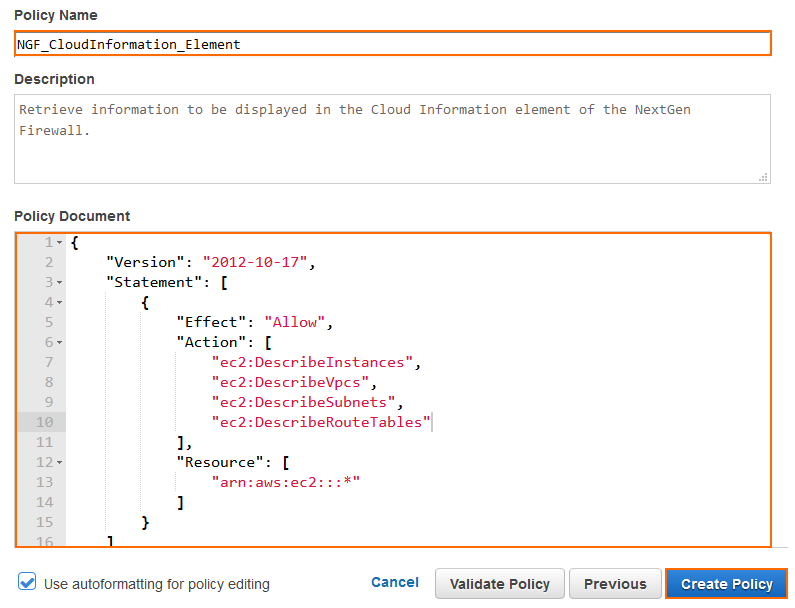 Cloudformation Iam Policy Condition
