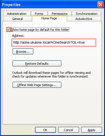 How to Resolve Search Archive Folder not Loading AOneSearch Website