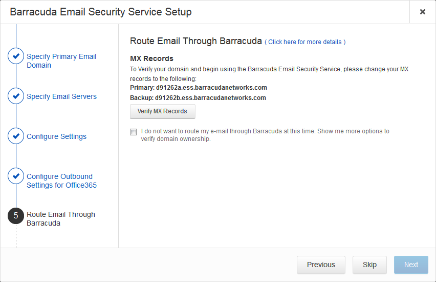 Step 2 - Deploy Security Edition for Exchange 2013 and Newer