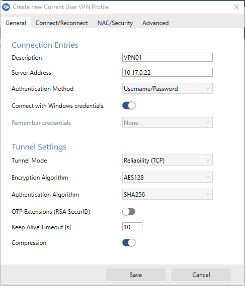 How to Create VPN Profiles | Barracuda Campus