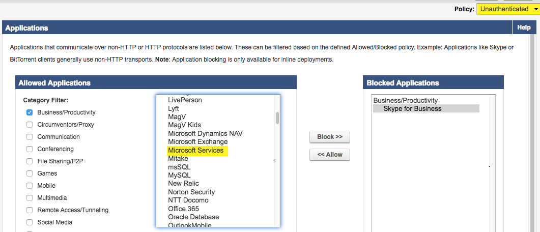 How to Block Skype for Business | Barracuda Campus