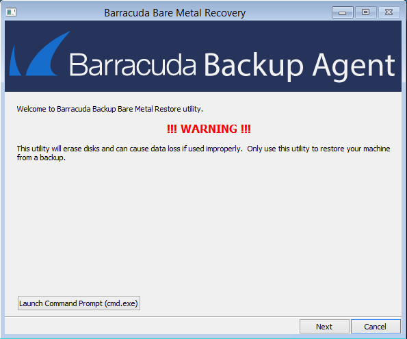 Physical-to-Virtual Recovery | Barracuda Campus