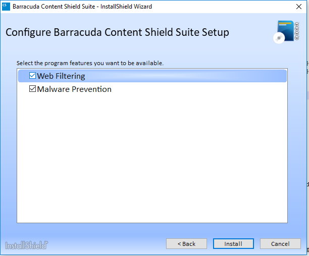 How to Download and Install the Barracuda Content Shield
