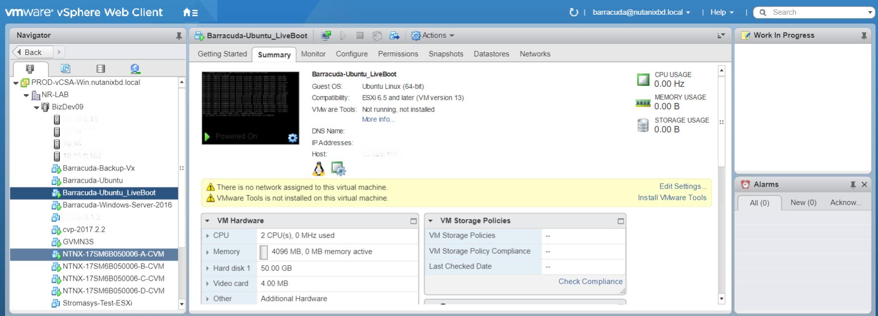 VMware vSphere Support | Barracuda Campus