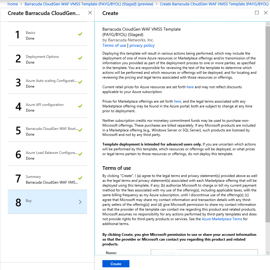 Azure VMSS Deployment with Consolidated ARM Template