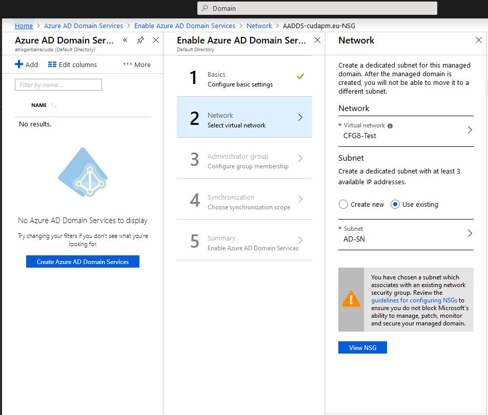 How to Configure MSAD Authentication Against Azure Active