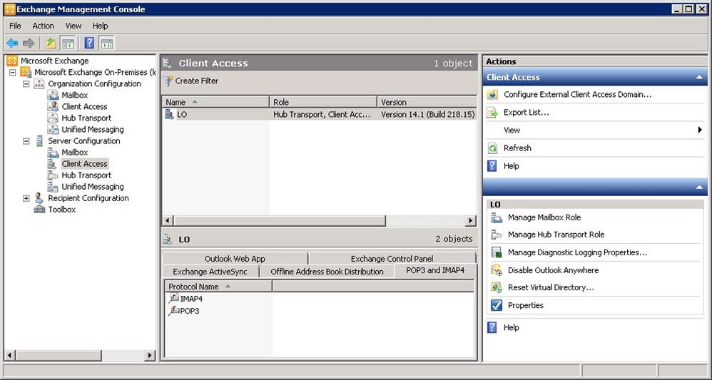how to get microsoft exchange server account